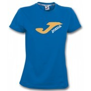 Camiseta Campus mujer 35-Poly 65-Cotton azul royal