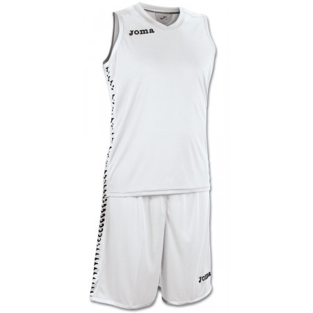 Set Cancha blanco (camiseta+short)