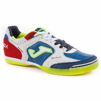 Zapatillas Top Flex sala Joma blanco-royal